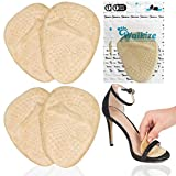 Metatarsal Pads Metatarsal Pads for Women Ball of Foot Cushions (2 Pairs Foot Pads) All Day Pain Relief and Comfort One Size Fits Shoe Inserts for Women