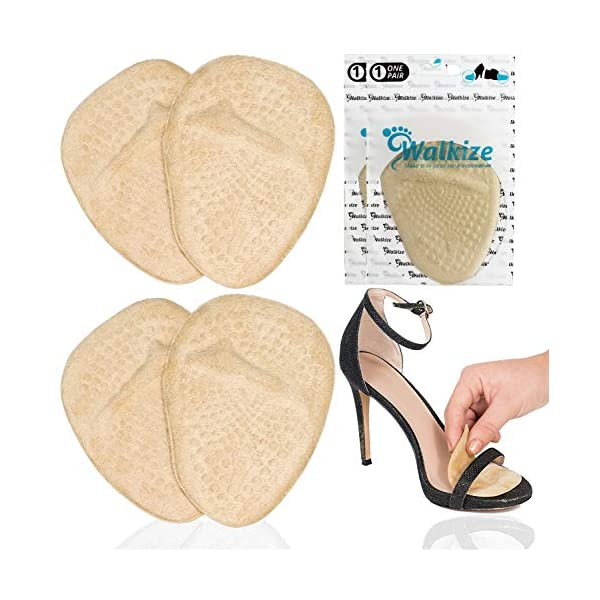 Metatarsal Pads | Metatarsal Pads for Women | Ball of Foot Cushions (2 Pairs Foot...