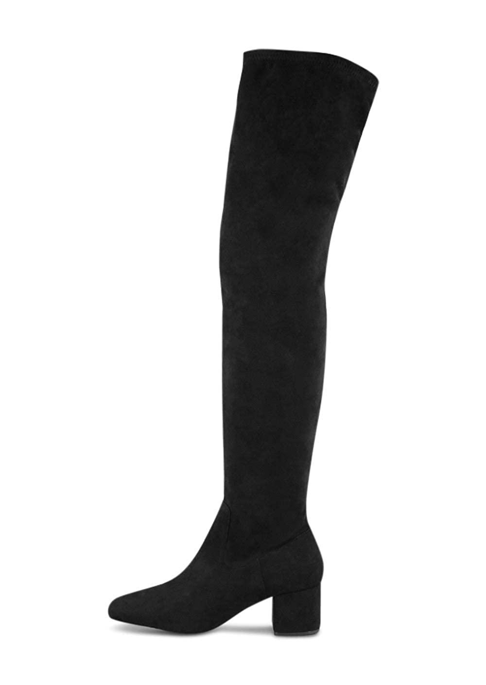 Microstretch Suede Long Boot Tony Bianco Amani Womens Boots