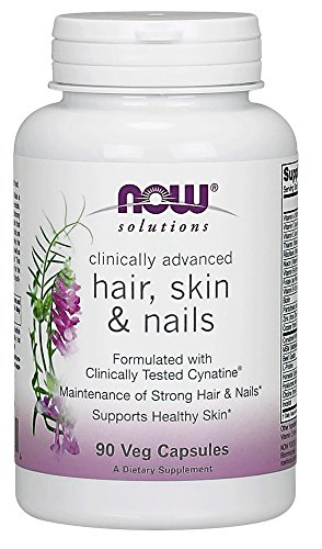 NOW Solutions Clinically Advanced Hair, Skin And Nail,90 Capsules