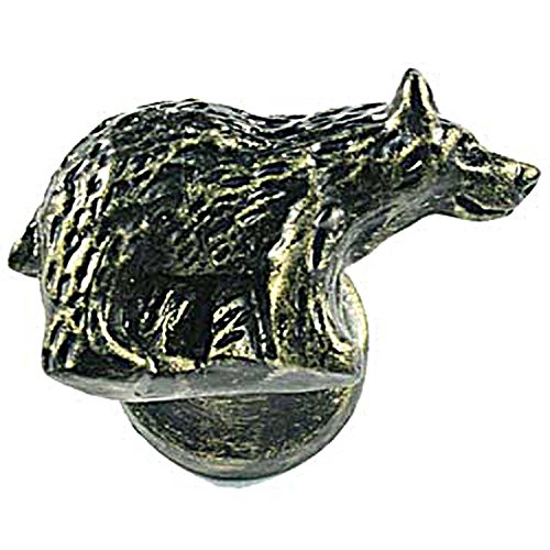 Sierra Lifestyles Bear Knob, Right Facing, Bronzed Black ()