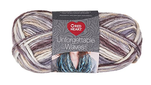 Red Heart Yarn Red Heart Unforgettable Waves Yarn Spices, -