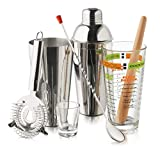 Libbey Mixologist 9-Piece Cocktail Set