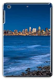 Seattle from the beach Custom Soft Case Cover Protector for Apple iPad Mini with Retina Display / iPad Mini Retina/ iPad Mini 2