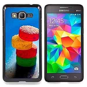 """Qstar Arte & diseño plástico duro Fundas Cover Cubre Hard Case Cover para Samsung Galaxy Grand Prime G530H / DS (Caramelo de azúcar"""")"""