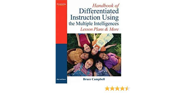 Handbook Of Differentiated Instruction Using The Multiple