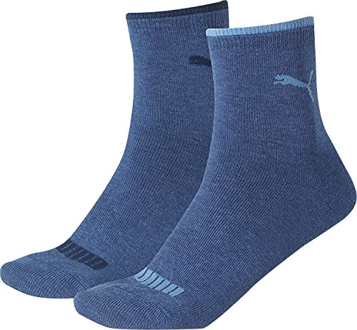 Puma Lifestyle Women Short Sock 2P - Íntimo para mujer verde 356