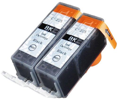 2 Pack Compatible Canon 2 Big Black (PGI-225BK) for use with Canon PIXMA iP4820, PIXMA iP4920, PIXMA iX6520, PIXMA MG5120, PIXMA MG5220, PIXMA MG6120, PIXMA MG5320, PIXMA MG6220, PIXMA MG8120, PIXMA MG8120B, PIXMA MG8220, PIXMA MX712, PIXMA MX882, PIXMA M
