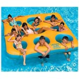 """80"""" Water Sports Inflatable Labyrinth Island Square Swimming Pool Float Toy"""