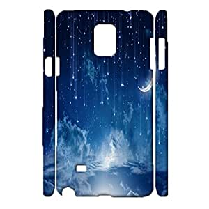 Samsung Galaxy Note 4 3d Protective Case Dream Beautiful Star Sky Wallpaper Phone Case Fit Samsung Galaxy Note 4