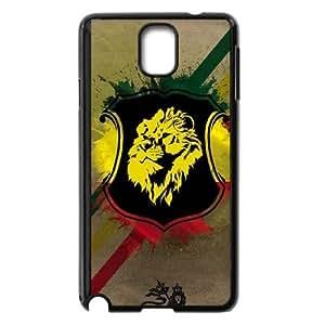 Samsung Galaxy Note 3 Cell Phone Case Black Lion of Judah Shield OJ622260