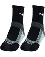 uxcell R-BAO Authorized Adult Mountain Bike Workout Training Cycling Socks Pair