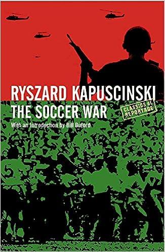 The Soccer War Amazon Ryszard Kapuscinski Books