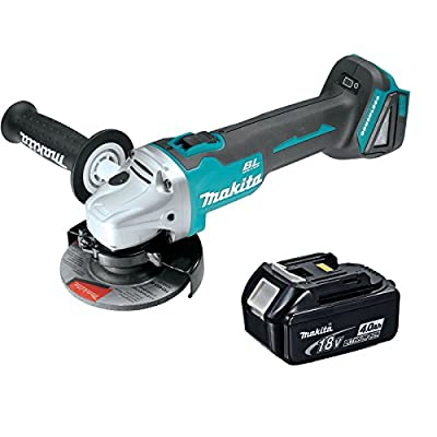 Makita XAG03Z 18V 4-1/2-inch Brushless Cut-Off/Angle Grinder with BL1840 Battery