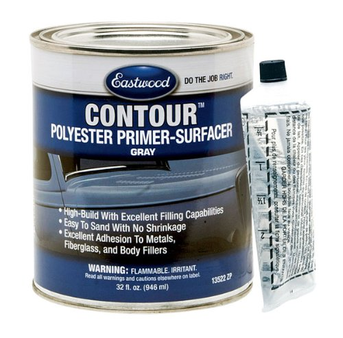 Eastwood Contour High Build Filler Polyester Primer Surfacer Quart