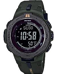 Protrek PRW-3100Y-3CR Reloj para Hombre, color Verde