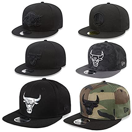 New Era Cap Gorra Snapback 9Fifty Chicago Bulls, Cleveland Cavaliers, Golden State Warriors NBA