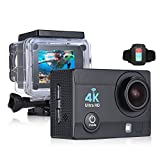 OLSUS 2 inch HD LCD Screen 4K 30fps 16MP Wi-Fi Sports Action Camera - Black