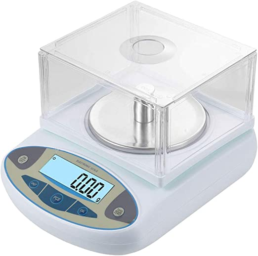 High Precision Lab Scale Digital Analytical Electronic Balance Laboratory Lab Precision Scale 110V 500g,0.01g