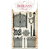 Bo Bunny Gateway Stamps, 4 by 6-Inch