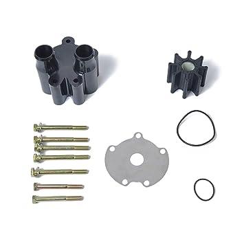 Water Pump Impeller Repair Kit with Housing for Mercruiser Bravo 46-807151A14