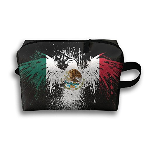 Portable Handy Mexican Flag Eagle Art Travel Storage Pouch Comestic Bag Oxford Cloth Kit Packing Organizer For Travel Accessories, - Usa Buy Online Sunglasses In
