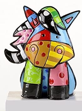 Gift Craft Romero Britto Miniature Horse Pop Art Figurine