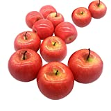 Maggift Artificial Fruits 12 pack,Decorative Fruit