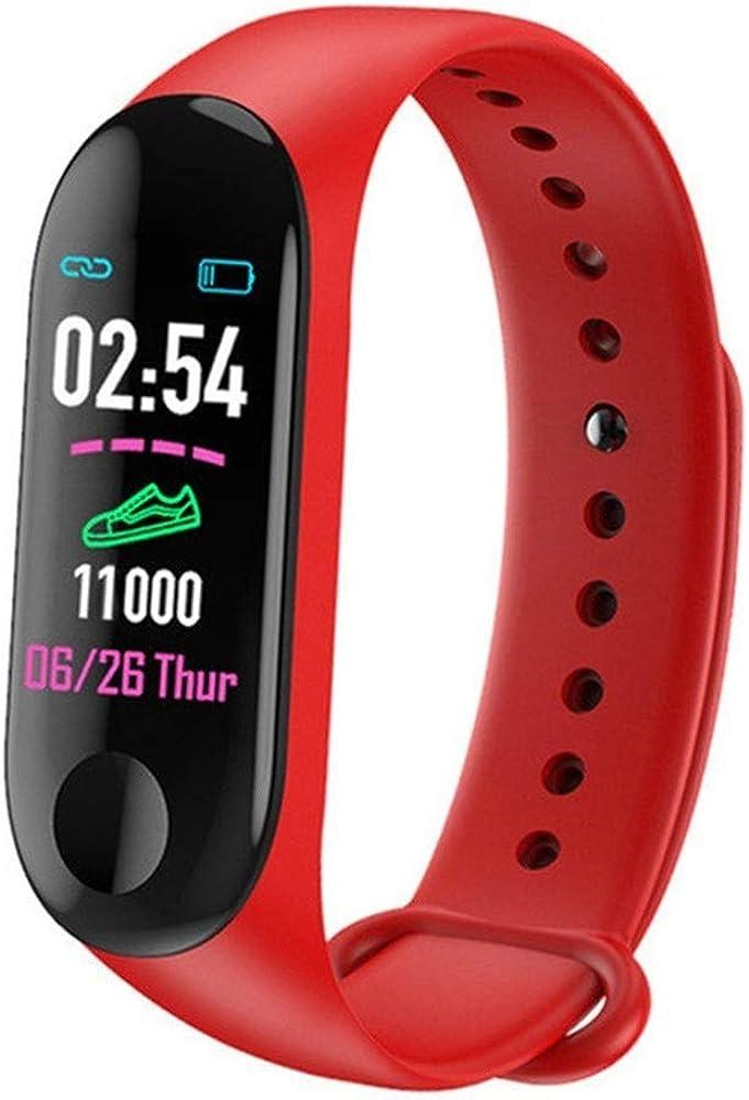 ulsera de Actividad Inteligente, Reloj Inteligente Hombre Mujer con Pulsómetro y Presión Arterial Reloj Deportivo Podómetro GPS Impermeable IP67 Cronómetro Smartwatch para