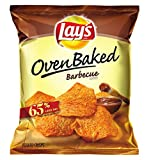 Lay's Oven Baked Barbecue Flavord Potato Crisps, 0.875 Ounce (Pack of 60)
