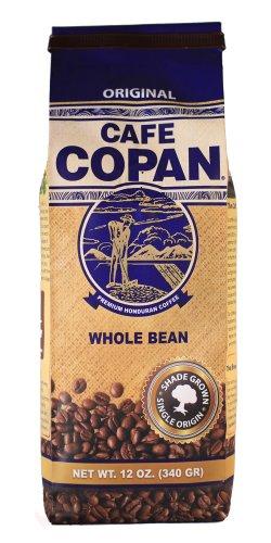 Café Copan Regular Roast, Whole Bean 12oz Bag.