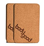 Product review for BodyGood Natural Cork Yoga Block. Dense, Durable Yoga Prop Provides Support for Balance Postures and Restorative Poses. Comfortable, Non Slip and Antimicrobial So You Can Practice with Confidence