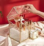 MOOCHI Golden Vintage Glass Cosmetic