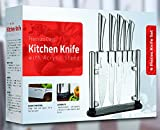 Utopia Kitchen Stainless Steel 6 Piece Knives Set (5 Knives...