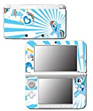 Rainbow Dash MLP My Little Pony Heart Video Game Vinyl Decal Skin Sticker Cover for Original Nintendo 3DS XL System