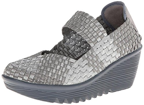 Bernie Mev Womens Lulia Wedge Pump Grey