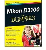 Nikon D3100 For Dummies (For Dummies (Lifestyles Paperback)) [Paperback]