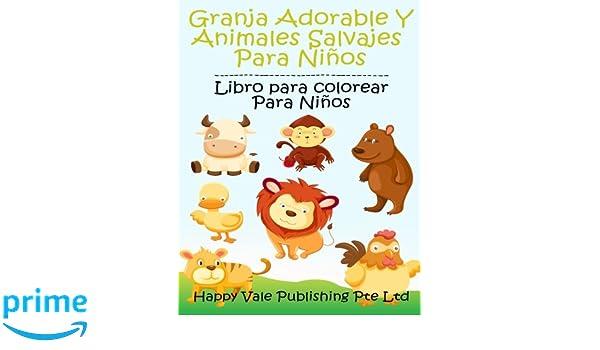 Ferme Adorable Et Animaux Sauvages Pour Les Enfants Livre De