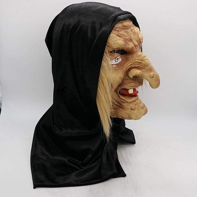 Halloween Dekoration Máscara De Bruja Arnés Película Máscara De ...