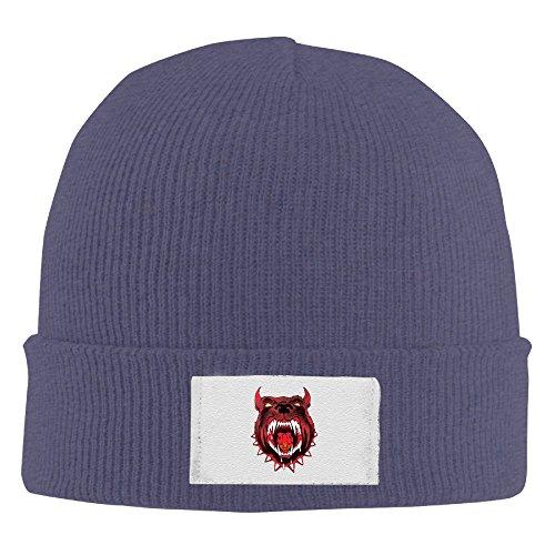 Kim Lennon Pittbull Don't Stop Party Custom Winter Hat Cap Lightweight Navy