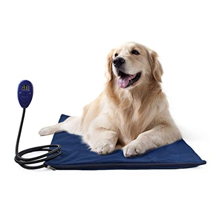 Dog mat Almohadilla de calefacción para Mascotas | Calentador eléctrico Interior para Perros, Gatos,