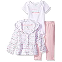 Carter's Baby Girls' 3 Pc Sets 126g278, Pink, 6 Months