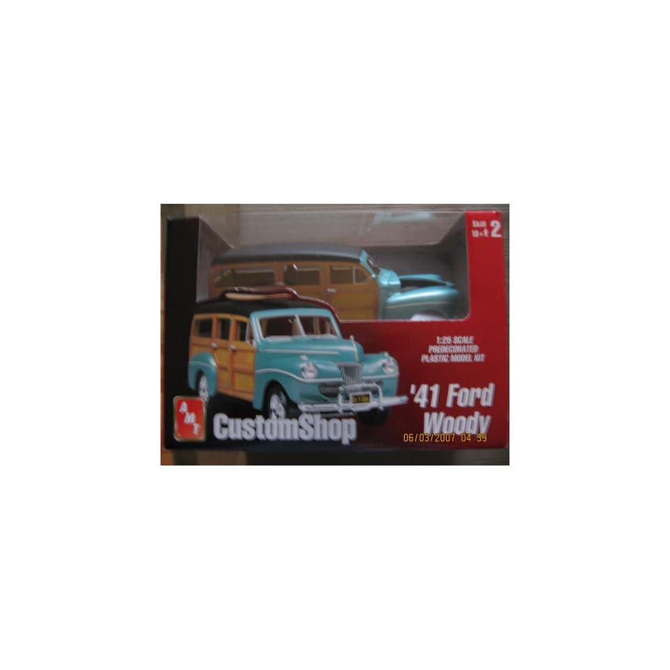Custom Shop 41 Ford Woody Model Kit