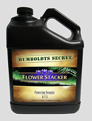 Best Flowering Plant Food - Humboldts Secret Flower Stacker - Let Your Flowers Mature To Their Maximum Potential (128 Ounce) by Humboldts Secret