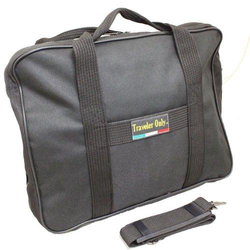 Traveler Only Polyester Lightweight Soft Attaché Business Briefcase - (Soft Attache)