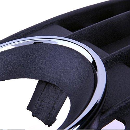 Anillos cromados para parachoques cubierta antiniebla para A4 B8 8K A4L