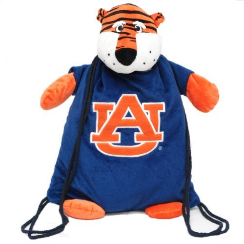 AUBURN TIGERS NCAA PLUSH MASCOT BACKPACK PAL by Forever Collectibles
