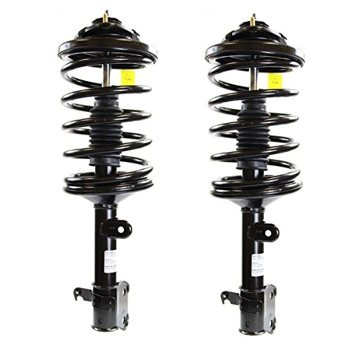 Detroit Axle - Left and Right Front Driver and Passenger Side Quick-Strut Complete Assembly for 2003-2008 Honda Pilot - [01-02 Acura (Axle Pilot)