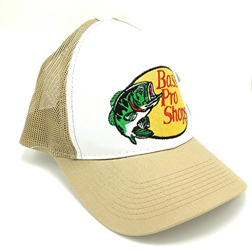 Bass Pro Shops Embroidered Logo Mesh Hat - Bass Top Hat