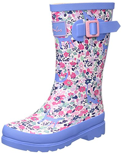 Joules Jnr Girls Welly Pretty Kitty Ditsy Kids Girls Rain Boots Size 13M]()